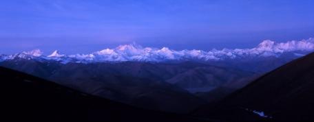 moonlit tibet